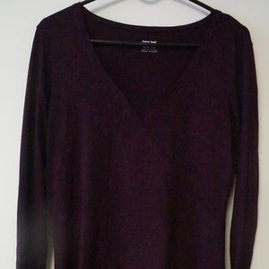 Horny Toad Purple Long Sleeve Top Size M